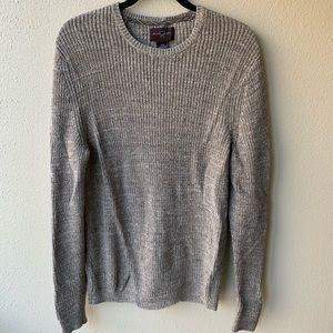 Mens Black Brown 1826 wool Sweater